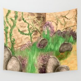 Garden Escape Wall Tapestry