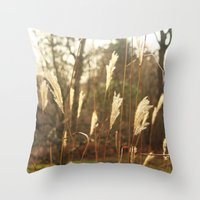 country Throw Pillows featuring country by Kayleigh Rappaport