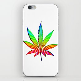 Cannabis Rainbow Design (115) iPhone Skin