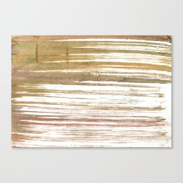 Light taupe abstract watercolor Canvas Print