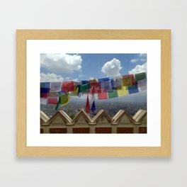 Kathmandu Valley Framed Art Print