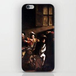 Caravaggio The Calling of Saint Matthew iPhone Skin