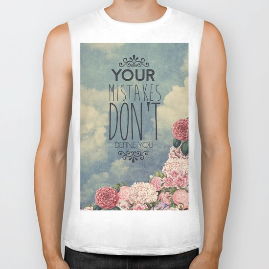 Don't define you Biker Tank