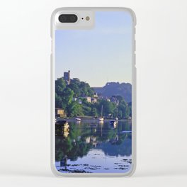 L'Heure Bleue at Noss Mayo Clear iPhone Case