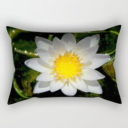 Purity in the Mud Rectangular Pillow