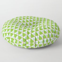 Green Angels Floor Pillow
