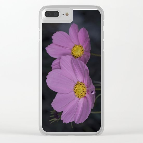 Cosmos water drop Clear iPhone Case