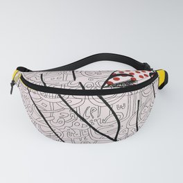 Roy Lichtenstein Meets the Arabic Woman Fanny Pack