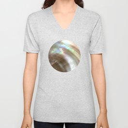 Mother of Pearl Unisex V-Neck