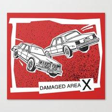 Left Car, Right Car Canvas Print