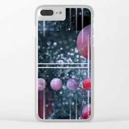 crazy patterns -2- Clear iPhone Case