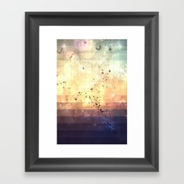 zkyy flyy Framed Art Print