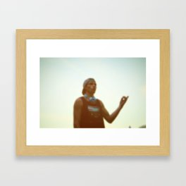 Convo's And Ish Framed Art Print