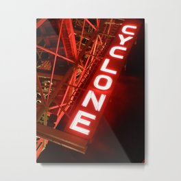 Cyclone Cell Case Metal Print