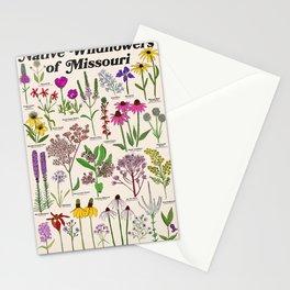 Missouri Wildflowers Stationery Cards