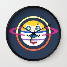 Spaceman 4 Wall Clock