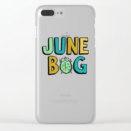 June Bug Clear iPhone Case