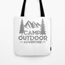 Camp Outdoor Adventure si Tote Bag