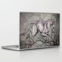 unicorn Laptop & iPad Skins featuring Unicorn by Caitlin Hackett