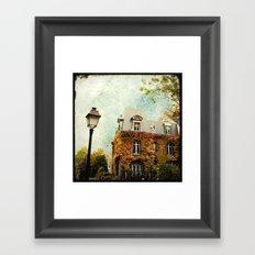 Autumnal Montmartre Framed Art Print