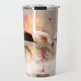 Flamingo land Travel Mug