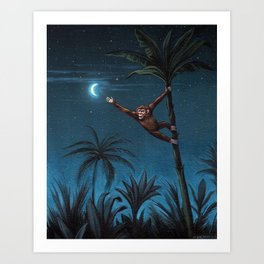 Aim High Painting Art Print