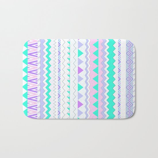 TWIN SHADOW by Vasare Nar and Kris Tate Bath Mat