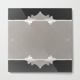 Monochrome Metal Print