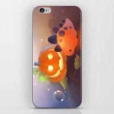 Pumpkin Dino iPhone & iPod Skin