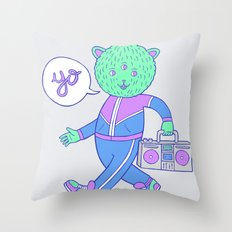 yo! Throw Pillow