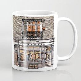 Primavera Gallery, Kings Parade, Cambridge, UK Coffee Mug