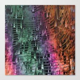 Spatial Factor 101 / Texture 30-10-16 Canvas Print