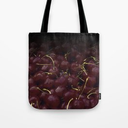 cherries pattern hvhdfn Tote Bag