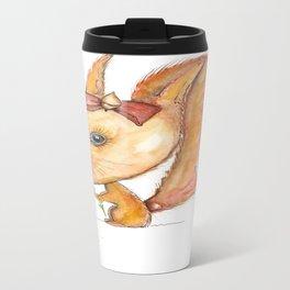 NORDIC ANIMAL - SUZY THE SQUIRREL / ORIGINAL DANISH DESIGN bykazandholly Travel Mug