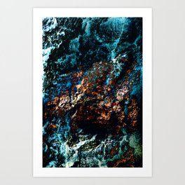 A Sudden Freeze Art Print
