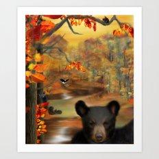 Little Fall Wonders Art Print