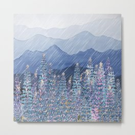 Mountain Lupine  Metal Print
