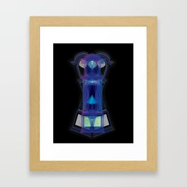 Grandfather Clock Framed Art Print