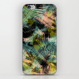 PALM COLLAGE iPhone Skin