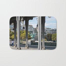 Pont de Bir-Hakeim in Paris Bath Mat
