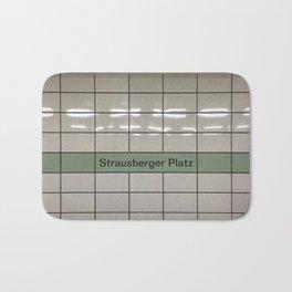 Strausberger Platz - Berlin Bath Mat