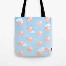 When Pigs Fly Tote Bag
