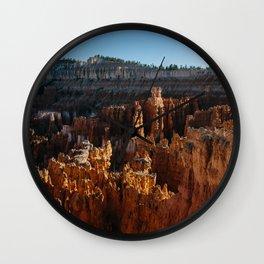Bryce Canyon Sunset Shadows Wall Clock