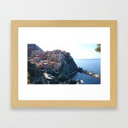 Cinque Terre, Italy Framed Art Print