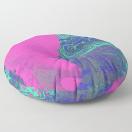 Under The Sea - Abstract Painting Floor Pillow