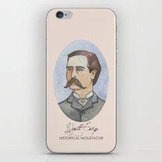 Historical Moustache Wyatt Earp iPhone & iPod Skin