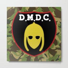 DMDC Detectorists Logo Metal Print