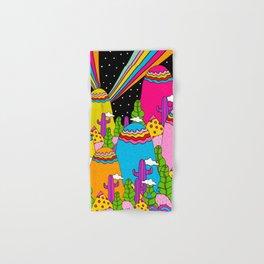Night Sky Rainbows Hand & Bath Towel