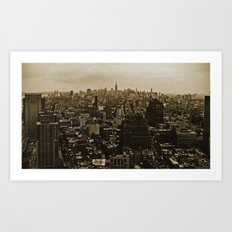 New York Skyline 3 Art Print