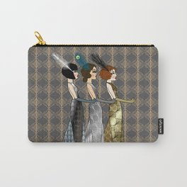 Art Deco Trio Carry-All Pouch
